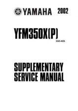 Buy Yamaha YFM350X by download Mauritron #344140