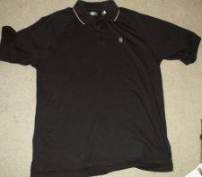 Buy Black Izod Golf Polo Shirt - Adult Size Large