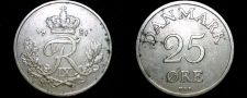 Buy 1951 Danish 25 Ore World Coin - Denmark
