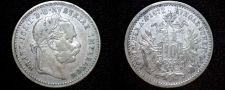 Buy 1872 Austrian 10 Kreuzer World Silver Coin - Austria