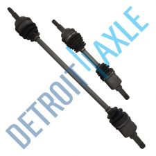 Buy Front Driver and Passenger CV Drive Shaft ABS A/T Pair