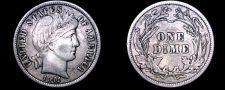 Buy 1911-P Barber Dime Silver