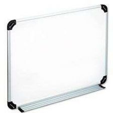Buy Magnetic Dry Erase Board Melamine 24x18 White Aluminum Whiteboard Marker Office