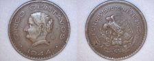Buy 1944 Mexican 5 Centavo World Coin - Mexico