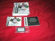 Buy FIFA SOCCER 06 GBA FUTBOL CARTRIDGE MANUAL INSERT MINT BOX ART GOOD
