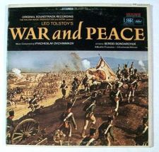 Buy WAR AND PEACE *** 1968 Soundtrack LP