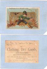 Buy New York Batavia Victorian Trade Card R. O. Holden & Son, 83 and 85 Main S~88