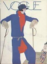 Buy Vogue 1927 Cover Print Ski Ski-ing Art Deco 1984 original print