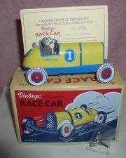 Buy TIN WIND UP RACE CAR #1 on car MINT tin toy