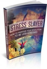 Buy Stress Slayer Ebook + 10 Free eBooks With Resell rights ( PDF )
