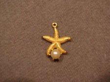 Buy Sarah Coventry Jewelry Starfish w/ pearl pendant #1173