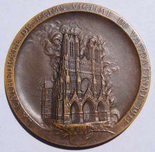 Buy 1914 France - Vandelism of Reims Cathedral by Germans in World War I