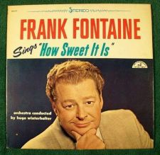 "Buy FRANK FONTAINE ~ Sings "" How Sweet It Is "" 1964 Pop LP"
