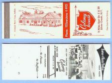 Buy New York Silver Creek Matchcover Advertising Colony House 2 Miles East On ~118