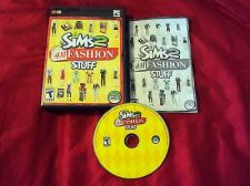 Buy THE SIMS 2 H&M FASHION STUFF PC DISC MANUAL ART & CASE NRMINT TO MINT HAS CODE