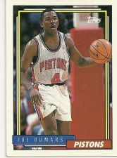 Buy Joe Dumars Detroit Pistons #347 Basketball Card