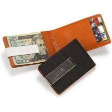 Buy Metro Leather Wallet/Money Clip - Free Engraving