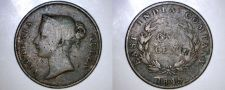 Buy 1845 Straits Settlements 1 Cent World Coin - British East India Company