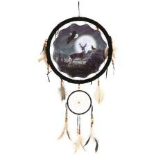 Buy Deer Eagle Wolf Dream Catcher ***ON SALE***