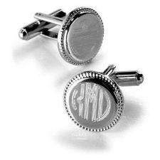 Buy Timeless Polished Silver Links - Free Engraving