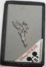 Buy Disney Tinker Bell Sterling Silver marquisate Pin Brooch Tinkerbelle Pin/Pins