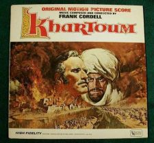 Buy KHARTOUM *** 1966 Original Motion Picture Score
