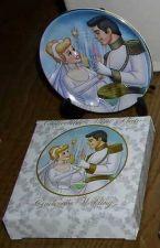 Buy Disney Cinderella & Prince Wedding Porcelain Plate