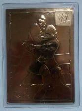 Buy 2002 World Wrestling Entertainment THE ROCK WWE WWF Wrestling Gold Card # 4