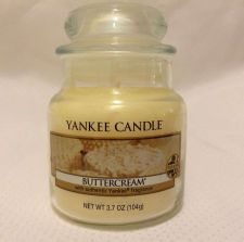 Buy Authentic Yankee Small Jar Candle!! Buttercream, 3.7 oz.