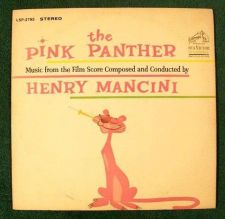 Buy THE PINK PANTHER ~ Henry Mancini 1964 Music from the Film Score LP