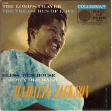 Buy MAHALIA JACKSON ~ The Lord's Prayer *** 1958 45rpm EP / Cardboard PS