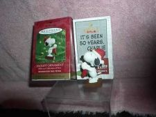 Buy Peanuts Snoopy dog full body Miniature Handcrafted Hallmark Keepsake Ornament