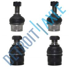 Buy Pair of 4 NEW Front Lower and Upper Ball Joint Assembly Set