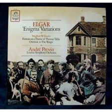 "Buy ELGAR Enigma Variations / VAUGHAN WILLIAMS Overture to ""The Wasps Classical LP"