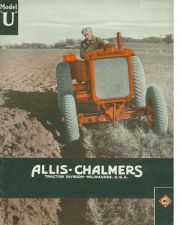 Buy ALLIS CHALMERS A U UC TRACTOR SERVICE MANUAL 125pgs with Overhaul & Repair Info