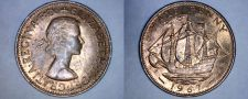 Buy 1967 Great Britain Half (1/2) Penny World Coin - UK - England