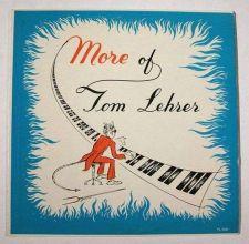 Buy TOM LEHRER ~ More of Tom Lehrer 1958 LP High Fidelity