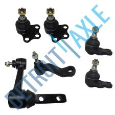 Buy NEW 6 PC Kit 2 Upper + 2 Lower Ball Joints + Pitman Arm + Idler Arm - RWD Only