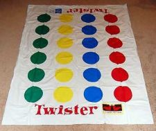 Buy Twister Game Replacement Mat Milton Bradley Hasbro
