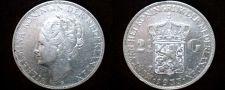 Buy 1933 Netherlands 2 1/2 Gulden World Silver Coin