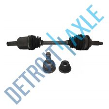 Buy Set Front Driver CV Axle Shaft + Lower Ball Joint 4 Cyl w/ MT or 6 Cyl; No ABS