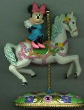 Buy Disney Minnie Mouse on a Carousel Horse Figurine