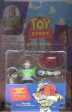 Buy Disney Buzz Lightyear Rocket Toy Story 1 Action Figurine 1st release MOC