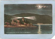 Buy New York West Point Lighthouse Postcard Light House & Old Cro' Nest On The~765