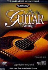 Buy Play the Guitar Overnight, Volumn 1 beginner basics 2 DVD's 2-disc learn