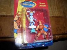 Buy Disney Hermes and Hercules carded toys