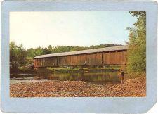 Buy New York Downsville Covered Bridge Postcard Bridge Over East Branch Delawa~485