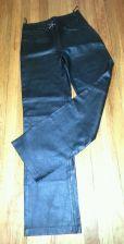 Buy CHADWICK'S Ltd Ed Black Leather, High Rise Bootcut Riding PANTS Women's Size 6