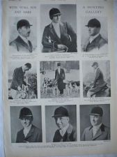 Buy Stag Fox and Hare Hunting Gallery Hunt Masters 1933 Southdown Minehead Harriers
