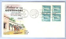Buy New Mexico Santa Fe First Day Cover / Commemorative Cover Palace of the Go~61